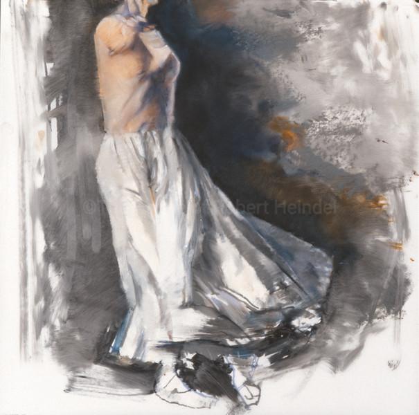 Study for 'White Skirt' from Arthur