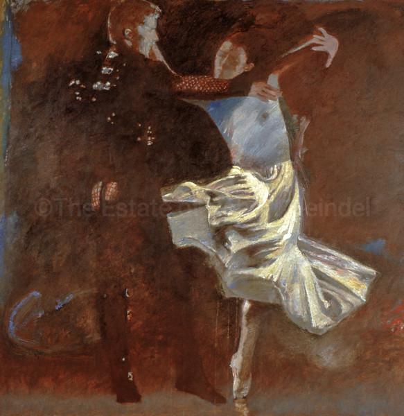 Arthur & Morgan Le Fay (Dress Rehersal - Arthur II)