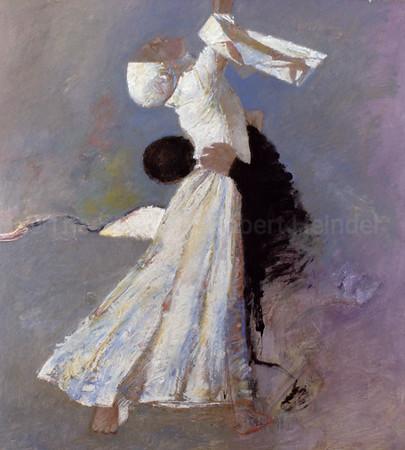 Guinevere In White