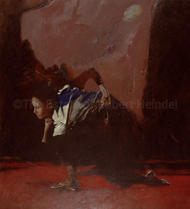 Dancer on a Red Floor