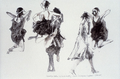 Study for 'Dancers from Arthur'