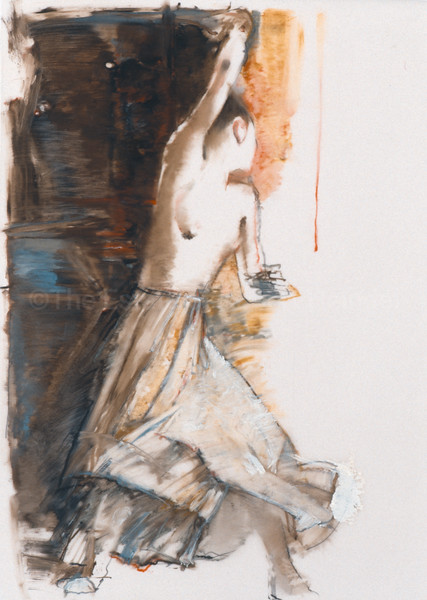 Study for Guinevere