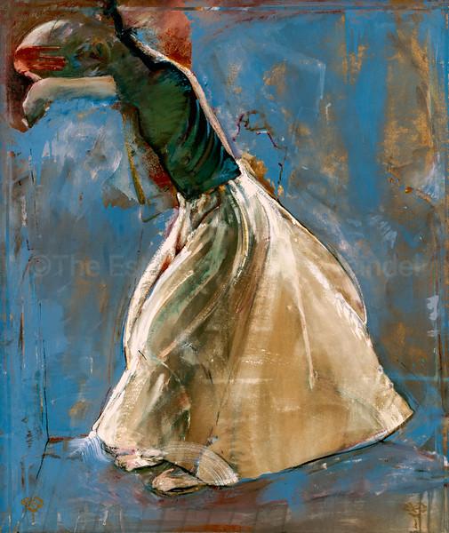 Hiding Eyes / The White Skirt