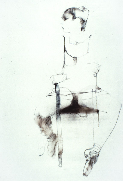Study for 'Dancer Sitting'