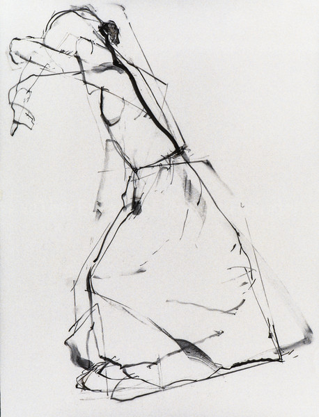 "Drawing For ""The White Skirt"" ""Hiding Eyes"""