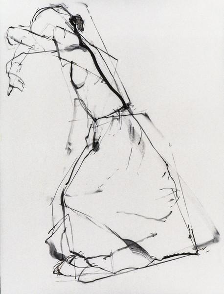 "Drawing For ""The White Skirt"" ""Hiding Eyes"""
