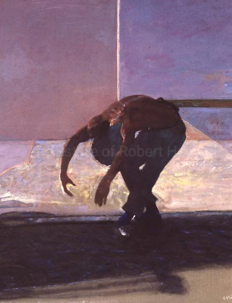 Male Dancer in Shadow