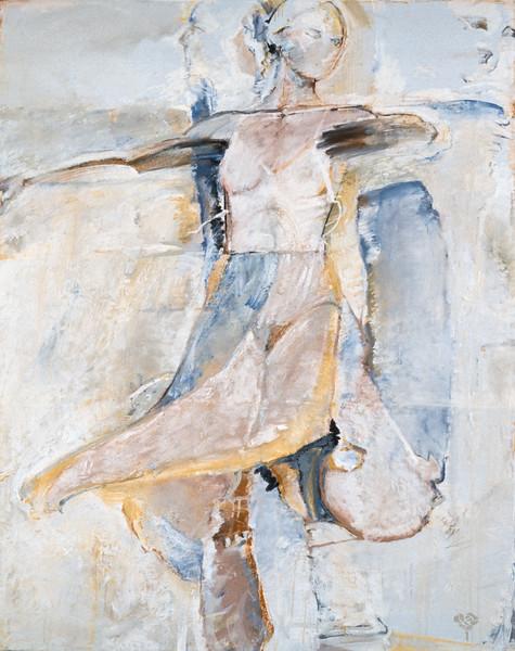 Coloured Skirt Study V from Series II