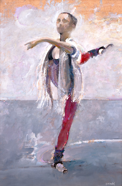 Dancer with White Sash