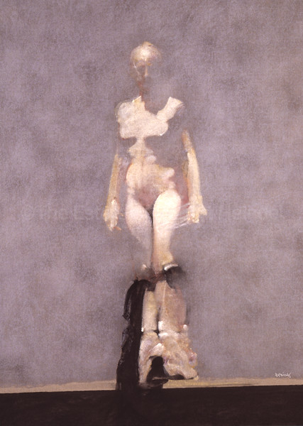 White Dancer I