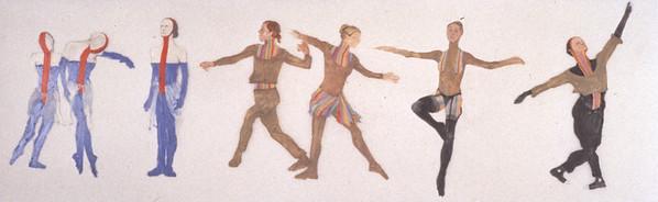 Dance House Costume Design (1994)