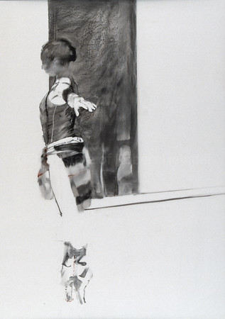 Study for The Transparent Wall