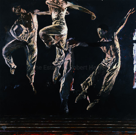 White Dancers on Black (2001)