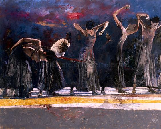 Five Dancers, San Francisco
