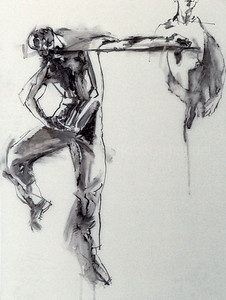 Leaping Dancers (Study)