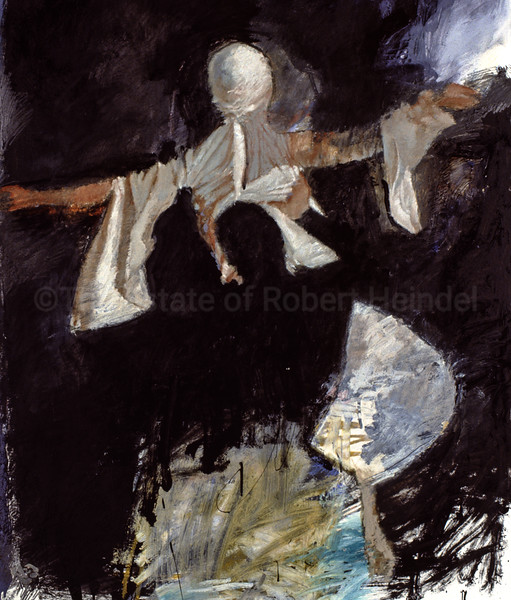 Final Dance ,Colour Study (Lancelot & Guinevere)