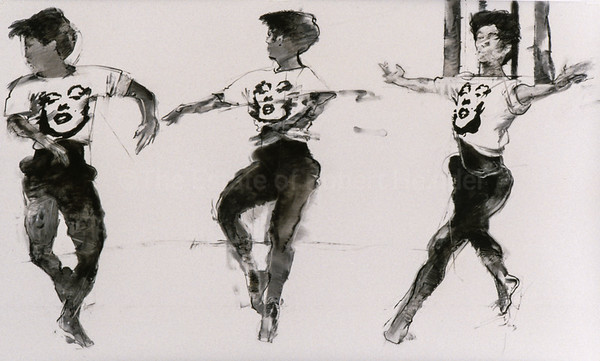 Study For MM Dancing (1995)