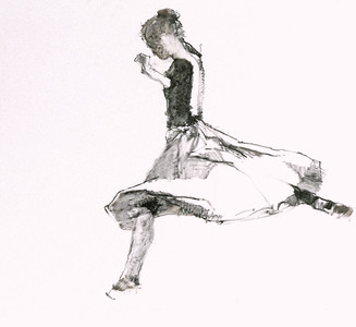 Study for Dancer Leaping (1997)