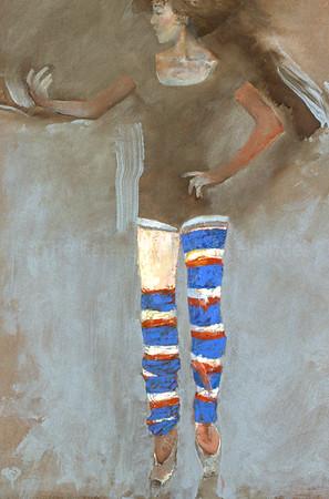 Sobi in Striped Stockings