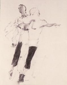 Study for 'Pas de Deux' (1987)
