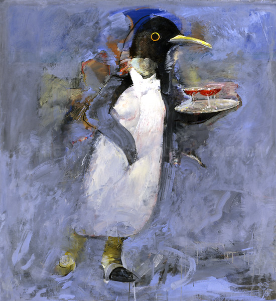 At The Penguin Cafe