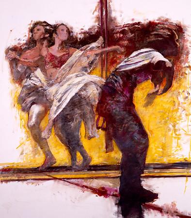 Three Dancers from Powder