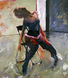 Dancer with Chair