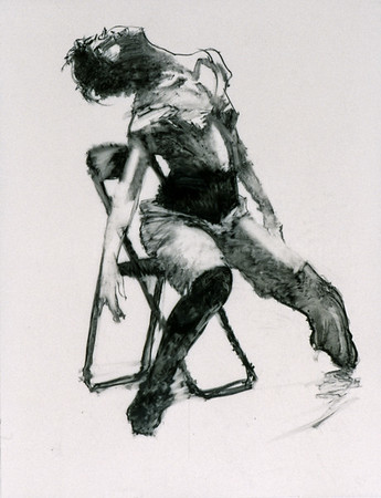 Study for Dancer with Chair