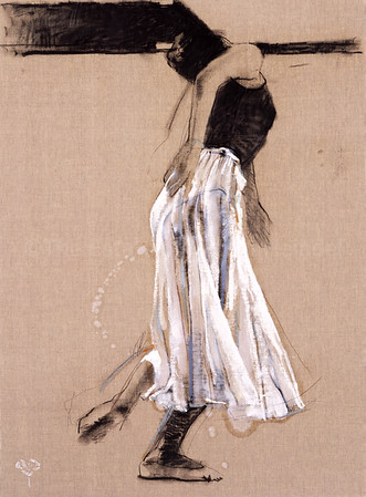 Dancer On Canvas I