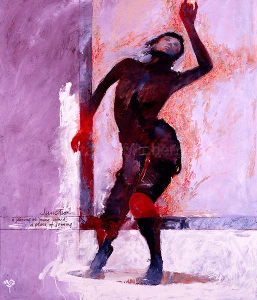 Dancer with Red Hands