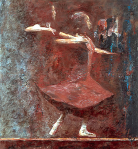 Untitled (Dancer in Red)
