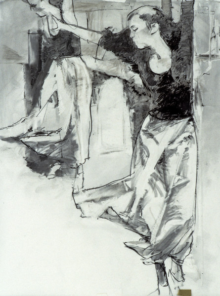 Study for Painted Floor