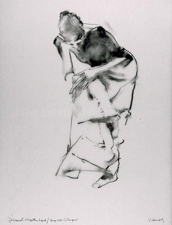 GIrl in White Skirt (1990)