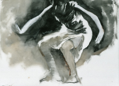 Study for 'Sobi with Red Stockings' (2003)