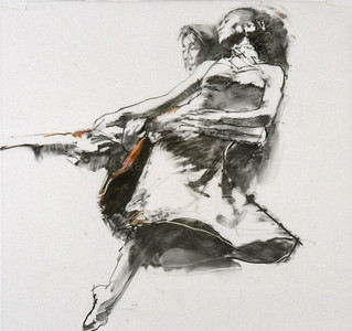 "Study for ""Untitled Dancers"""