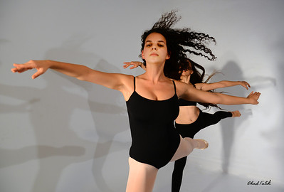 Dancers in the Studio