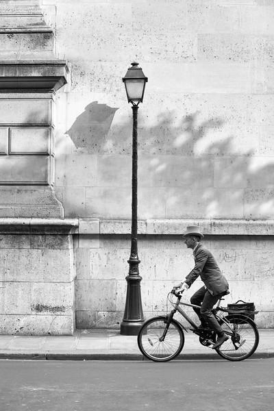 Le gentilhomme à vélo