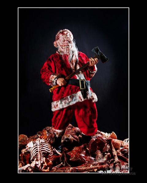 'Evil Santa'<br /> 2010