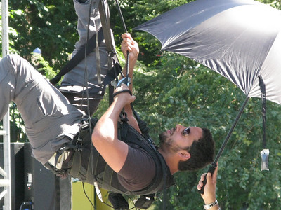 David Blaine - Dive Of Death - 9-23-08 - Wollman Rink, NYC