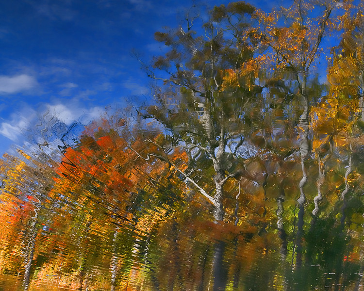 Fall reflection - Hills & Dales