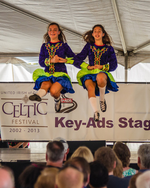 Dancing on air at the Celtic Festival