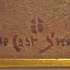 DeCost Smith signiture and buffalo hoof symbol.