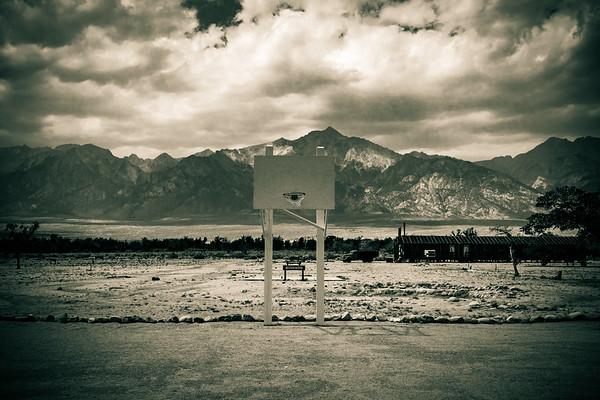 Basketball hoop, Manzanar