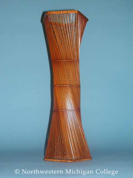 Masao, Ueno <br /> Twisted Column     nd<br /> Bamboo<br /> Gift of an anonymous donor<br /> 2003.006.001