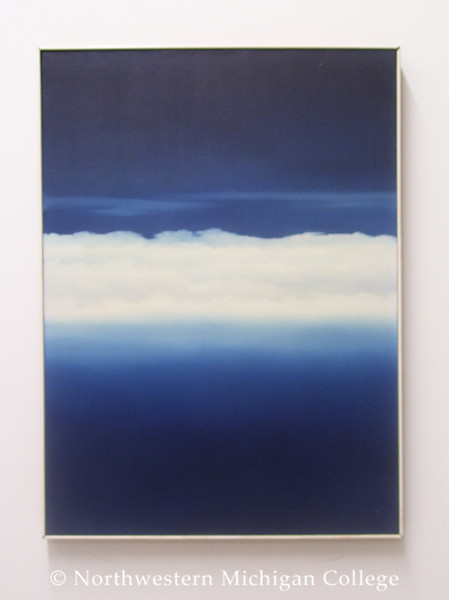 Taylor, Ann <br /> Midnight Cumulus     1973<br /> Oil on canvas<br /> Gift of the Estate of Elaine J. Graham<br /> 2004.009.002