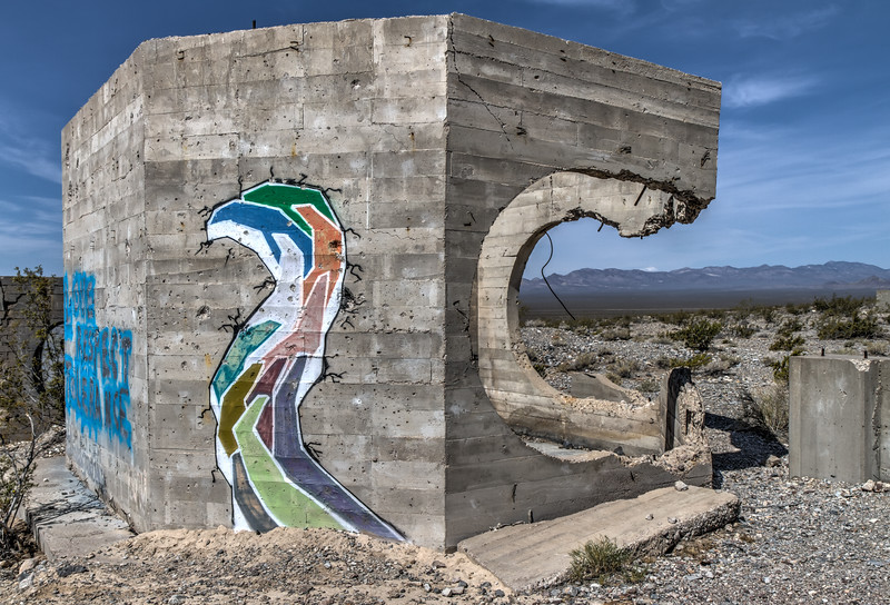 050 Desert Graffiti