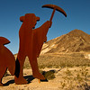 """004 Fred Bervoets's """"Tribute to Shorty Harris 1994"""" Goldwell Open Air Museum, Beatty, NV"""
