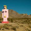 "011 Dr. Hugo Heyrman's ""Lady Desert: The Venus of Nevada 1992"", Goldwell Open Air Museum, Beatty, NV"