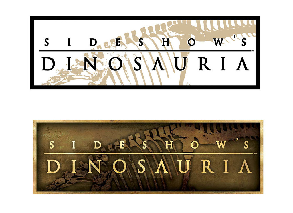 Identity | Sideshow's Dinosauria | Proprietary line of scaled dinosaur statues and dioramas