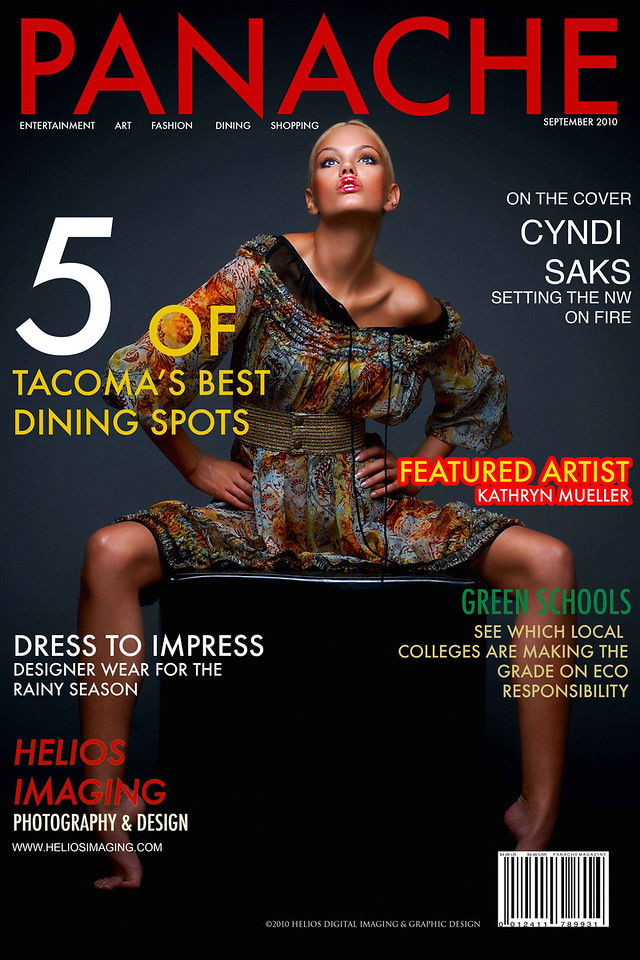 Magazine Cover Design Concept